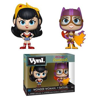 Funko VYNL: DC Bombshells - Wonder Woman and Batgirl