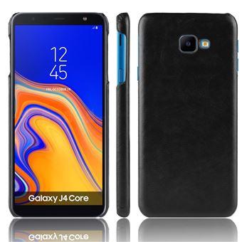 Capa Magunivers PU hard preto para Samsung Galaxy J4 Core