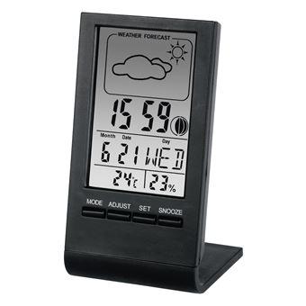 Estações meteorológicas digitais Hama TH-100 Preto Digital Bateria