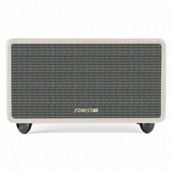 Coluna Bluetooth Fonestar  - 2x20w - Creme
