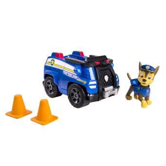 Carro Polícia Patrulha Pata Chase Preto e Azul