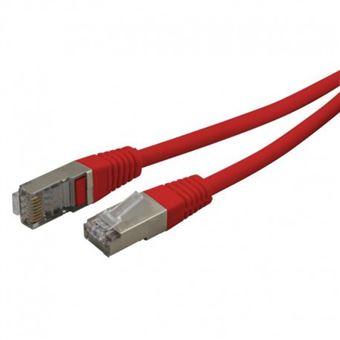 cabo de rede Waytex 33508  1 m Cat6 F/UTP (FTP) Vermelho
