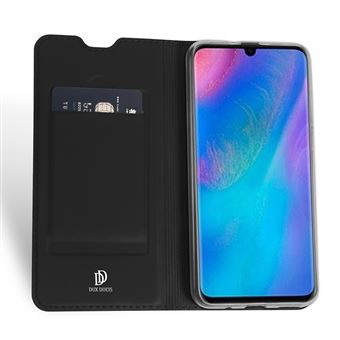 Capa Folio WISETONY para Huawei Y7 / Y7 Prime 2019 Preto