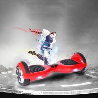 Hoverboard 6.5 CoolFun Bluetooth com Controlo Remoto e Bolsa Vermelho