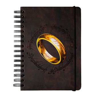 Caderno Capa Forrada A5 Bullet The Lord Of The Rings