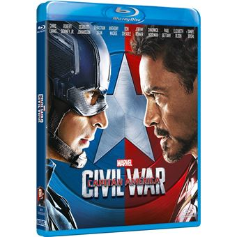 Capitain América: Civil War / Capitán América: Civil War (Blu-ray)
