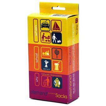 Pack de 100 Sacos Multiusos Allerhand Ah-Ac-Aps100-01/81 Laranja