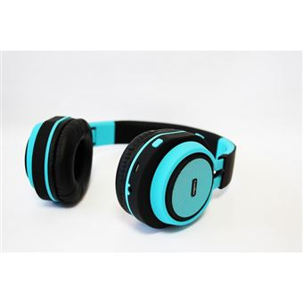 conjunto de auscultadores e microfone CoolBox CoolHead Binaural Fita de cabeça Azul