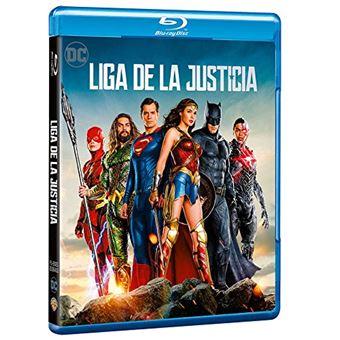 Justice League (2017) / Liga de la Justicia (Blu-ray)