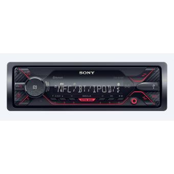 Recetor multimédia para automóvel Sony DSX-A410BT Bluetooth Preto recetormultimédia para automóvel