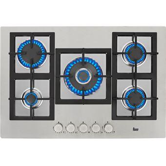 Placa de Cozinha a Gás Encastrável Teka EFX 70 5G AI AL DR CI Inox