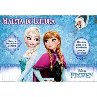 Coleção Disney Frozen - Caixa Maleta de Leitura