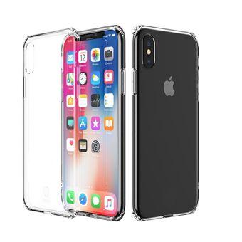 Capa Gel TPU Silicone Multi4you para Apple iPhone X - Transparente