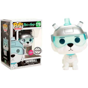 Funko Pop! Rick and Morty - Snowball Flocked Exclusive - 178