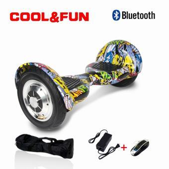 Hoverboard 10 CoolFun com Controlo Remoto e Bolsa Multicolorido