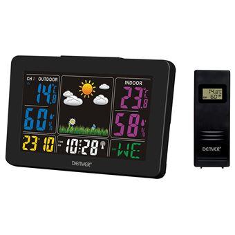 Estações meteorológicas digitais Denver WS-540BLACK estação meteorológica digital Preto AC/Bateria