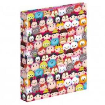Dossier com Argolas A4 Tsum Tsum Disney Cotton