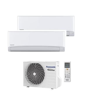 Ar Condicionado Multi-Split Panasonic KIT-2TZ2535-TBE A++ Branco