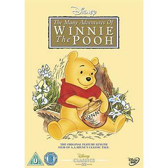 Disney Many Adventures of Winnie the Pooh DVD 2D Inglês
