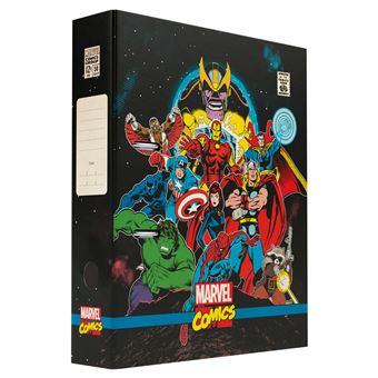 Pasta De Arquivo Com Compresor Marvel Comics Avengers