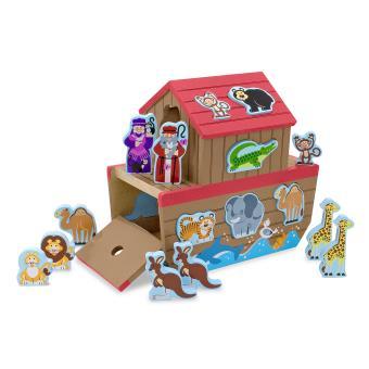 Arca de Nóe Melissa & Doug 13786 Brinquedo de Formas para Criança Multi Cor