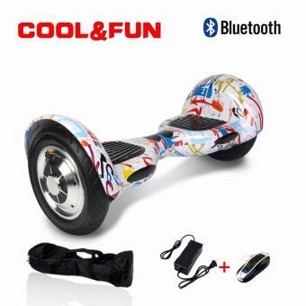 Hoverboard 10 CoolFun com Controlo Remoto e Bolsa Grafitii