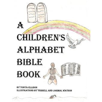 a Childrens Alphabet Bible Book Paperback -