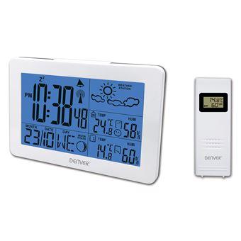 Estações meteorológicas digitais Denver WS-530WHITE estação meteorológica digital Branco Bateria