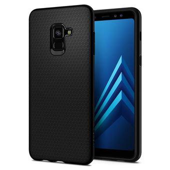 Capa para Samsung Galaxy A8 (2018) Spigen Liquid Air matt black