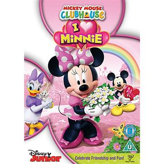 Disney Mickey Mouse Clubhouse I Heart Minnie DVD 2D Inglês