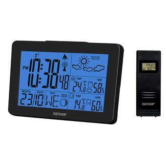 Estações meteorológicas digitais Denver WS-530BLACK estação meteorológica digital Preto Bateria