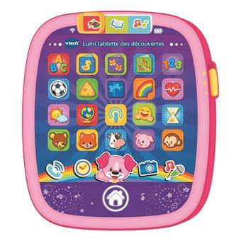 Brinquedo educativo VTech Lumi tablette des découvertes rose Menina  Rosa