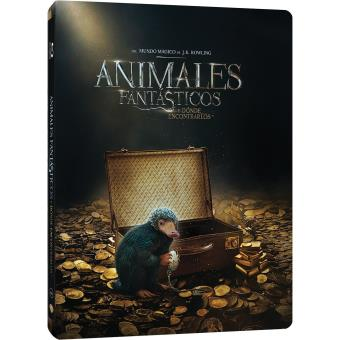 Animales Fantásticos Y Dónde Encontrarlos Edición Metálica Fantastic Beasts And Where To Find Them 2blu Ray Blu Ray Compra Filmes E Dvd Na Fnac Pt