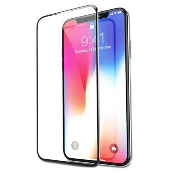 Película Ecrã Vidro Temperado Advansia para Apple iPhone X / 10 Protecção Total