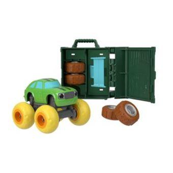 Fisher-Price Blaze and the Monster Machines FHV39 Metal, Plástico brinquedo sobre rodas Verde
