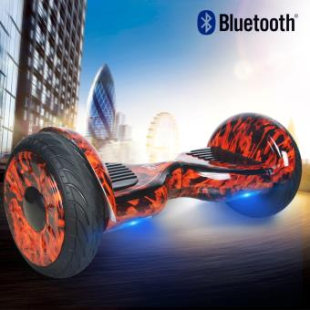Hoverboard 10 CoolFun Chamas