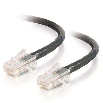 cabo de rede C2G 83315  1 m Cat5e U/UTP (UTP) Preto