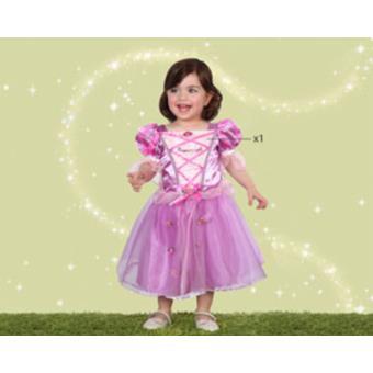 Disfarce Atosa Rapunzel, Baby T.12-18 Meses
