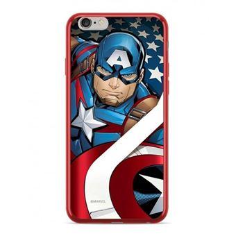 Capa LMobile Estampada Marvel Capitan America para Apple Iphone 6/6S