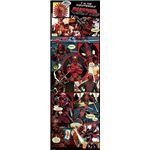 Poster Marvel Deadpool Panels Pyramid International 53 x 158 cm