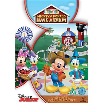 Disney Mickey Mouse Clubhouse Mickey and Donald have a Farm DVD 2D Inglês
