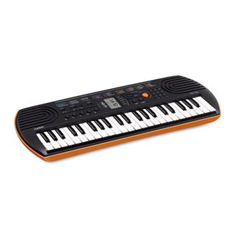 Casio SA-76 44keys Preto, Castanho, Branco piano digital