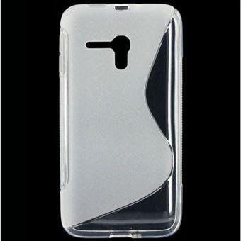 Capa Lmobile em Gel S Line para Alcatel One Touch Pop D5 Transparente