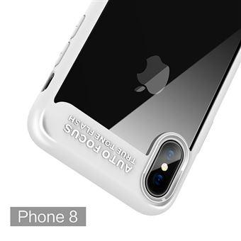 Capa Fashion Case AutoFocus para iPhone X Branco