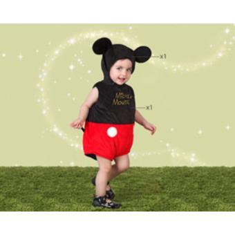 Disfarce Atosa de Mickey, Baby T.12-18 Meses