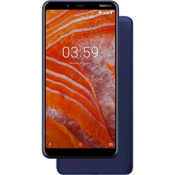 Smartphone Nokia 3.1 Plus 2GB 16GB Azul