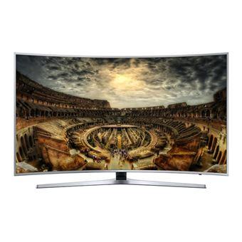 "Smart TV Samsung Curvo 4K UHD HG65EE890WB 65"" Prateado"