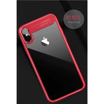Capa Fashion Case AutoFocus para iPhone X Vermelho