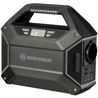 Impressora 3D Bresser com WiFi, Cloud, Usb, Câmara e Ecrã Tátil + 2 Filamentos PLA Branco/Preto + 2 Bicos de Extrusão - Cinzento