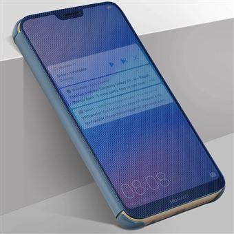 Capa Avizar para Huawei P20 Lite Translúcida Acabamento Sulcado - Azul